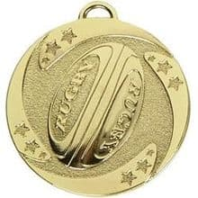 50mm Medal for Rugby