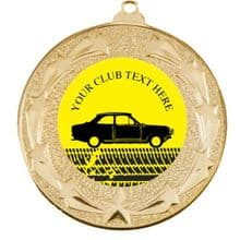 50mm Vintage Car Medal.