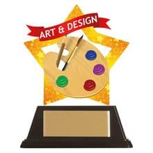 Art & Design Mini-Star Acrylic Award
