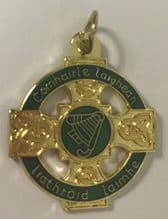 Bespoke 34mm Irish Gold Medal with Tab from €4.00