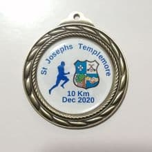 Bespoke Custom Made  70mm Medal with Gel Centre Minimum Order: 5