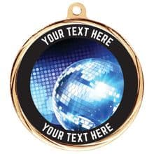 Custom Made Bespoke Dance Medal 55mm Including Ribbon