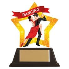 Dance-Ballroom Mini-Star Acrylic Award
