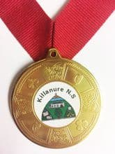 Eire Medal Deal Including Your Logo & Ribbon, Pack of 100 only €1.90 each