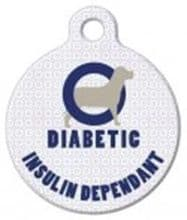 Medical Alert ID Tag Suitable for Diabetic