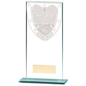 Millennium Glass Badminton Trophy