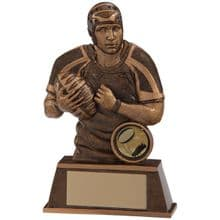 Protector Rugby Player Figure Trophy