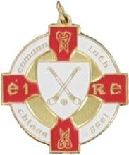 Red & Gold Hurling Medal