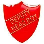 Red Shield Deputy Head Boy Badge