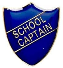 School Captain Shield Badge