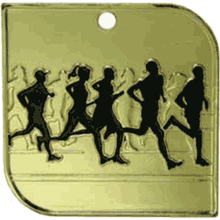 Square Runners Medal