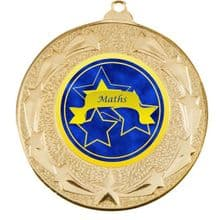 Star Maths Medal including Personalisation