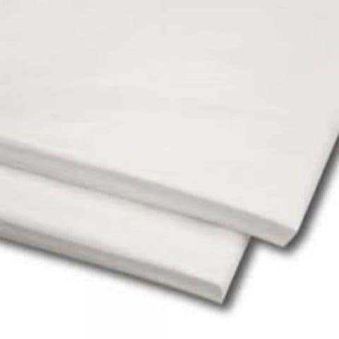 Alpine White Tissue Wrapping Paper ~ Large Sheets ~ 50cm x 75cm