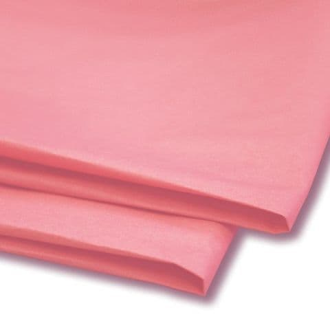 Baby / Pale Pink Tissue Wrapping Paper ~ Large Sheets ~ 50cm x 75cm