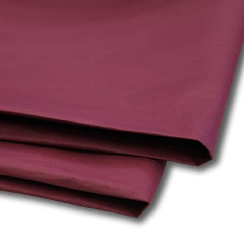 Burgundy / Deep Red Tissue Wrapping Paper ~ Large Sheets ~ 50cm x 75cm