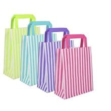 Candy Stripe Paper Gift Bags