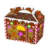 Christmas Gingerbread House Meal Party Box