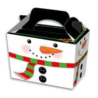 Christmas Snowman  Meal Party Box