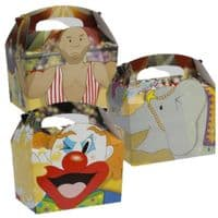 Circus / Clown Meal Party Box