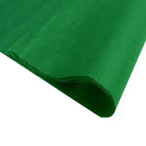 Emerald Green Tissue Wrapping Paper ~ Large Sheets ~ 50cm x 75cm