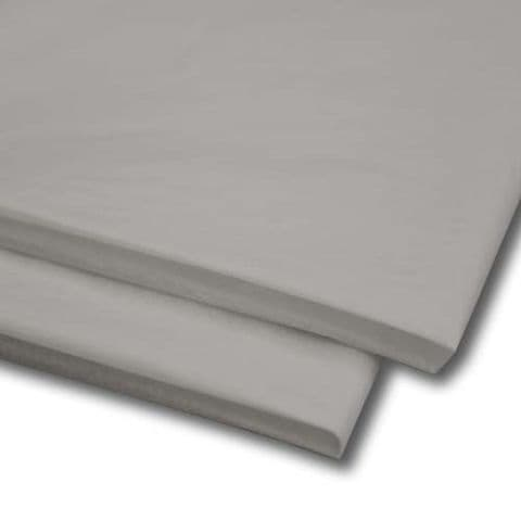 Grey / Silver Tissue Wrapping Paper ~ Large Sheets ~ 50cm x 75cm