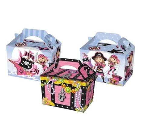 Pink Pirate Meal Party Box