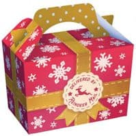 Reindeer Mail Design Meal Party Box