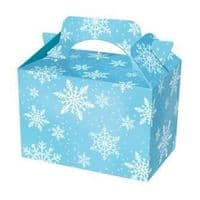 Snowflake Design Meal Party Box