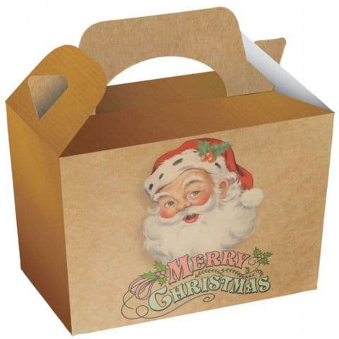 Traditional Santa Design Meal Party Box