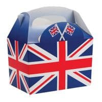Union Jack Flag Meal Party Box