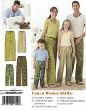 BEGINNERS DRESSMAKING PYJAMA BOTTOMS OR SHORTS  FRIDAY 12TH MARCH 6PM TO 9PM