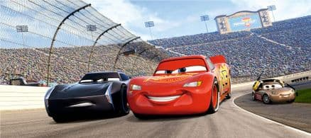 Cars 3 Race Panoramic mural wallpaper 202x90cm