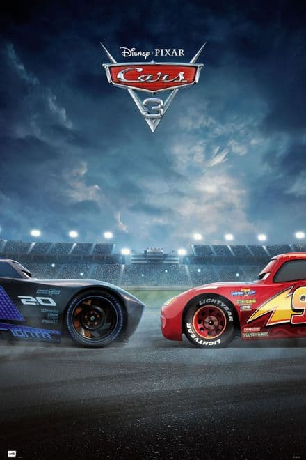 Cars Duel 61x91,5cm Poster