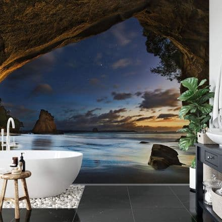Cathedral Cove in New Zealand wall mural wallpaper Premium