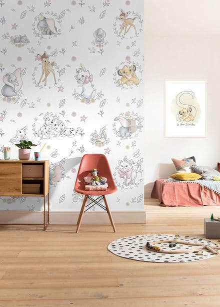 "Digital printing wallpaper ""Disney Character's"""