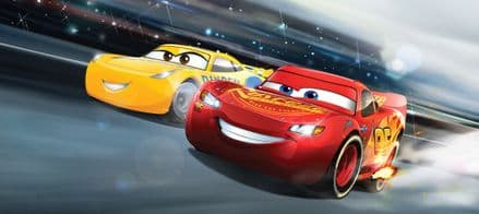 "Disney ""CARS"" Panoramic mural wallpaper 202x90cm"