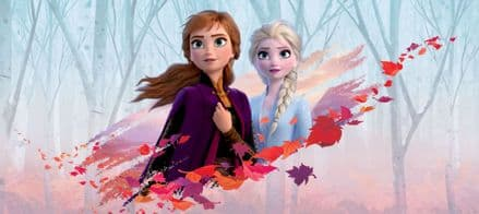 "Disney ""Frozen 2"" Panoramic mural wallpaper 202x90cm"