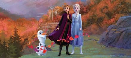 "Disney ""Frozen 2"" Panoramic wallpaper murals 202x90cm"