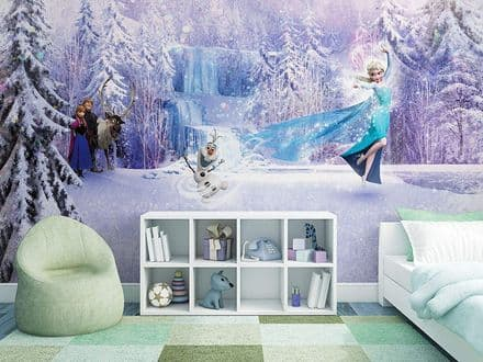 "Disney ""Frozen"" paper wallpaper mural"