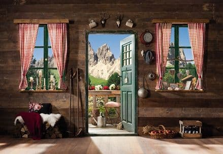 Dolomite Mountains wall mural