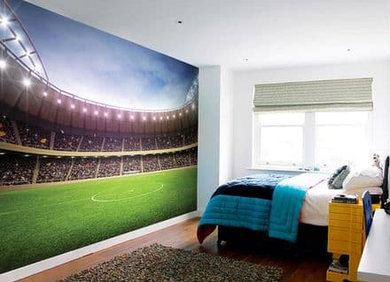 Football Stadium wallpaper mural