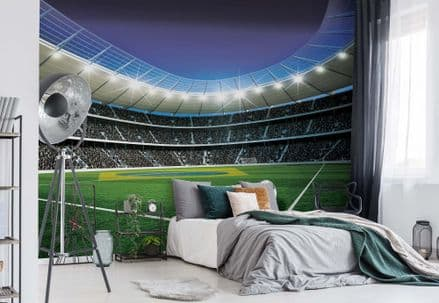 Football Stadium wallpaper mural Easy to Install