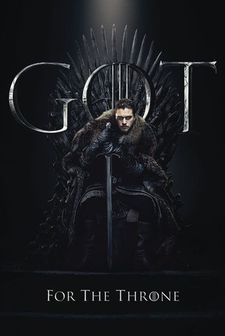 Game of Thrones Jon For The Throne 61x91,5cm Movie Poster