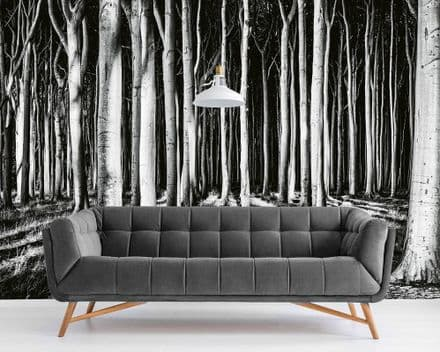 Ghost Forest wall mural wallpaper Premium