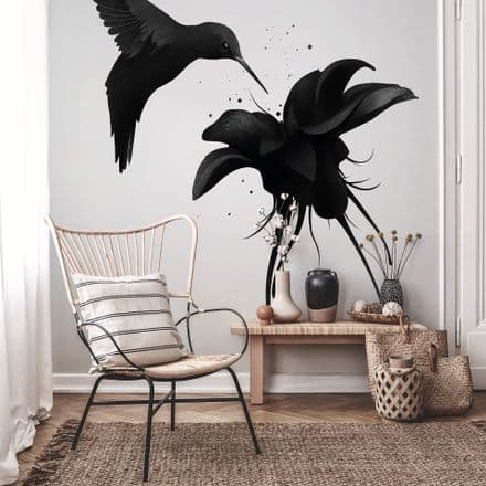 Hummingbird 192x260 wall mural wallpaper Premium
