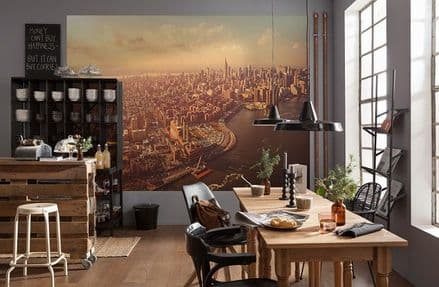 Manhattan view wall mural wallpaper