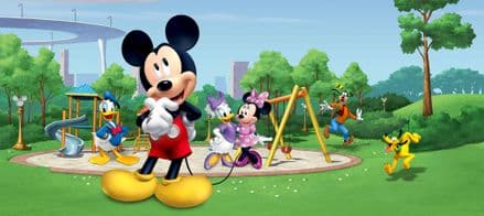 Mickey Mouse Panoramic wallpaper mural 202x90cm