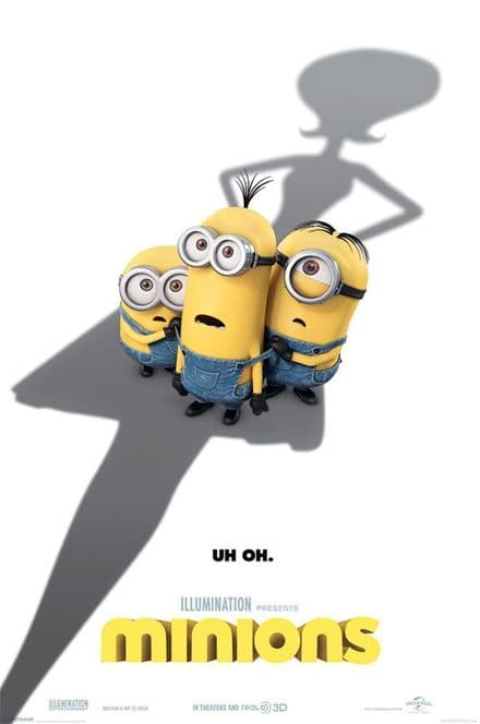 Minions Uh Oh 61x91,5cm Movie Poster
