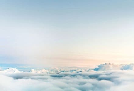 Over the Clouds wall mural wallpaper 260 x 384cm