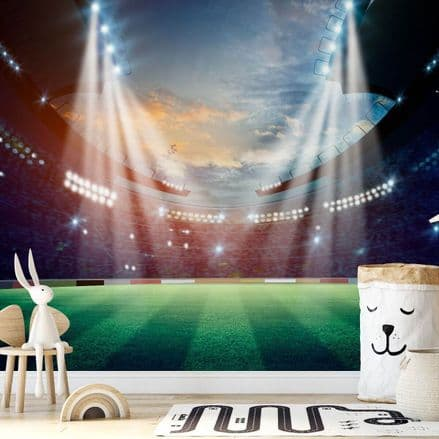 "Paper photo wallpaper ""Football Stadium Champions"""